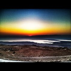 Sunrise at the top of Masada   #sunrise #masada #israel #beautiful #instagood #instamood #sun #summer #sky #israelonthehouse #iphone