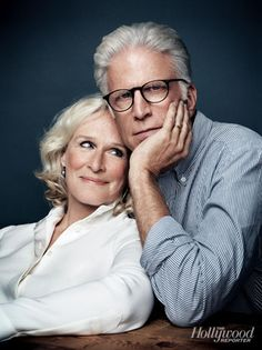 Glenn Close and Ted Danson~ Hollywood Reporter