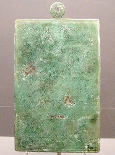 El Edicto del Bierzo que se encuentra en el Museo de León