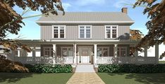 See-Through 5 Bed Farmhouse Plan - 44130TD | 2nd Floor Master Suite, Butler Walk-in Pantry, CAD Available, Country, Farmhouse, Metric, PDF | Architectural Designs