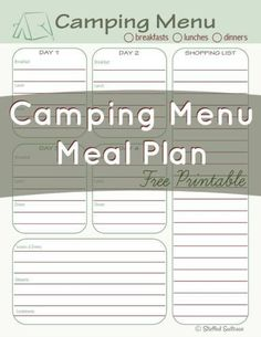 168 best planning your camping trip images on pinterest in 2018