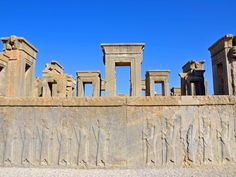 Persepolis was the capital of the Achaemenid Empire, dating to 515 B.C. The ancient city was declared a UNESCO World Heritage site in 1979.