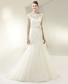 Beautiful by Enzoani Wedding Dresses - Style BT14-13 #bride #bridal_gowns #wedding #beauty #spring_wedding #lace