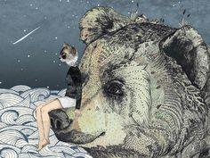 Ilustração - Sandra Dieckmann | Just Lia