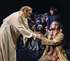 Major Spoilers: In Les Mis, Jean Valjean is the protagonist and one of the most complex characters in the world of musicals. At the beginning of Les Mis, you discover that he stole a loaf of … Queens Theatre, Musical Theatre, Beautiful Songs, Love Songs, Les Mis Characters, Les Miserables Costumes, Elphaba And Glinda, Jean Valjean, Miss Saigon