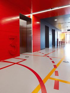 Interior directional graphics [office design + agency culture]