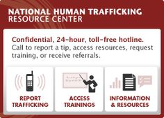 You can click on your STATE and see how many human trafficking calls have been reported. staggering...