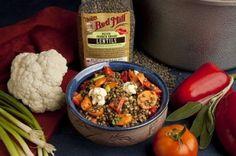 Vegetable Lentil Salad @bobsredmill
