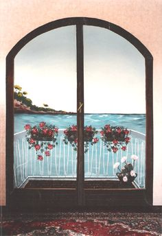 Trompe l'oeil, murales, quadri, decorazioni artistiche, disegni