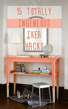 I especially love the metal and glass drinks stand as well as the super cheap LACK side table that looks very expensive and a whole lot more bedroom worthy.