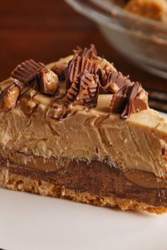 Peanut butter and chocolate, and unbeatable combination.