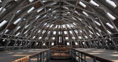 3 SLIP: THE BIG SPACE. A covered Slip at the Historic Dockyard Chatham. http://thedockyard.co.uk/
