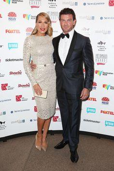 Fabulously Spotted: Erika Heynatz Wearing Collette Dinnigan - 2013 Helpmann Awards - http://www.becauseiamfabulous.com/2013/07/erika-heynatz-wearing-collette-dinnigan-2013-helpmann-awards/
