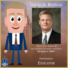 David A. Bednar was ordained and set apart as a member of the Quorum of the Twelve Apostles of The Church of Jesus Christ of Latter-day Saints on October 7, 2004. Prior to his call to the Quorum of the Twelve, Elder Bednar served as an Area Seventy, Area Authority Seventy, regional representative, twice as a stake president, and as a bishop.  .  April 2017 General Conference - Priesthood Session.  .  #ElderBednar #ldsconf #lds #mormon #LDS #JesusChrist #Christian #quote #efy #sharegoodness