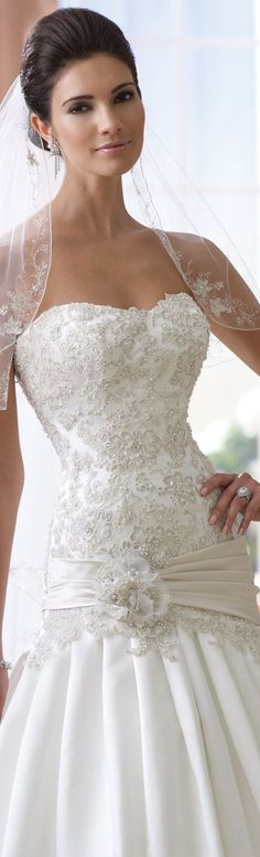 David Tutera for Mon Cheri Spring 2014 Bridal Collection                                                                                                                                                                                 More