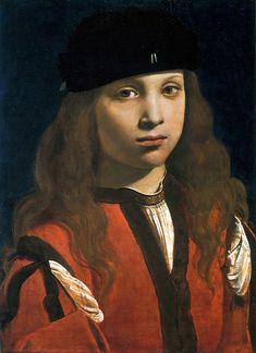 Boltraffio Giovanni Antonio Ritratto di giovane, 1495-1498