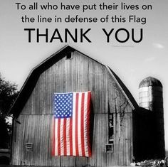 america. I am very proud for the men in my family that have done that.  Vietnam, Gulf War, and still in the Middle East fighting for Freedom.