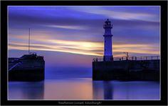 500px / Newhaven Sunset, Edinburgh by Karen McDonald