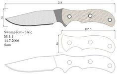 """Вторая часть коллекции """"Чертежи ножей"""". Для изготовления ножа предоставлены все необходимые параметры: необходимо лишь выбрать понравившийся чертеж."""