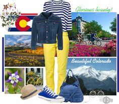 """""""Beautiful Colorado"""" by skpg ❤ liked on Polyvore"""