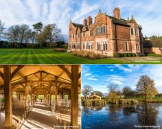 Colshaw Hall in Cheshire Summer Wedding Venues, Summer Weddings, Home Wedding, Dream Wedding, Wedding Ideas, Colshaw Hall, Beautiful Homes, Beautiful Places, English Architecture