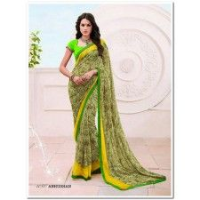 Georgette sarees for wedding: Georgette sarees are most comfortable, lightweight and easy to wear. Sunfashions have huge collection of printed georgette sarees online at best price in India. For more:  http://www.sunfashions.in/georgette-sarees