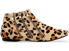 cheetah shoes cute LUV the 3 zipper thing!!!!
