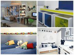 Ideias diferentes para decorar quarto de menino