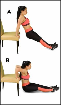 3 Flabby Arm Workouts For Women Without Weights – Femniqe Easy Arm Workout, Easy Workouts, Triceps Workout, Flabby Arm Workouts, Slim Arms Workout, Kickboxing Workout, Fitness Workouts, Lose Arm Fat, Lose Belly Fat