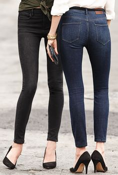 Jean et stiletto #FranckProvost #parisienne #parisiangirl #glamour #chic #tendance #mode #hautecouture #mademoiselle #provost Inspiration Franck Provost