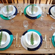 Navy blue, turquoise and grey placemats. Perfect for Mother's Day lunch or a gift for the special lady herself. In shop now. Grey Placemats, Shop Now, Etsy Seller, Navy Blue, Lunch, Turquoise, Lady, Tableware, Instagram Posts