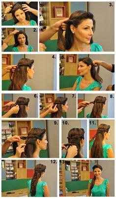 oana's hairstyle.