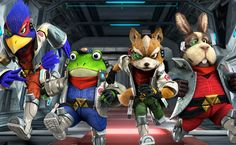 Japanese Star Fox Zero Website Now Live With Video Clips