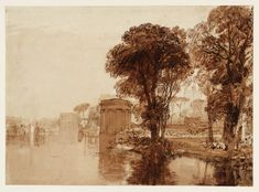 Joseph Mallord William Turner 'Isleworth', c.1810–15