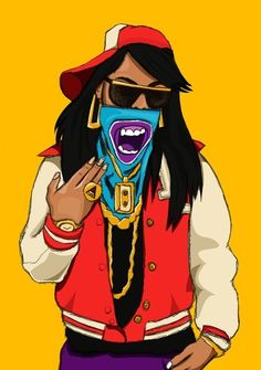 DOPE Art on Pinterest | Dope Art, Gangsta Girl and Trippy