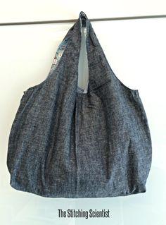 Remona's Reversible Tote Bag - Free tote bag pattern
