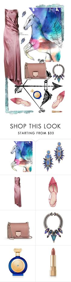 """Sagittarius"" by rita257 ❤ liked on Polyvore featuring Imagination Illustrated, Elizabeth Cole, Gucci, Kate Spade, Jimmy Choo, Erickson Beamon, Boadicea the Victorious and Dolce&Gabbana"