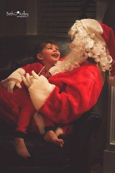 Barrett and Santa picture