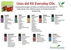 usos de aceites diarios
