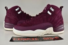 "Sponsored)eBay Nike Air Jordan 12 Retro ""Bordeaux"" Style"