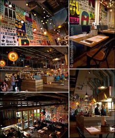 Brazilian spot that Travis loves to visit (Cabana Stratford Westfield London)