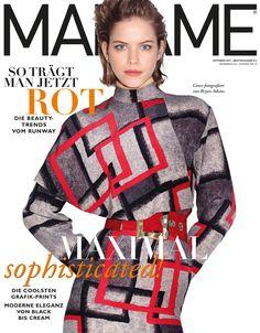 Oktober 2015 / Covermodel #AlexandraHochguertel shot by #BryanAdams