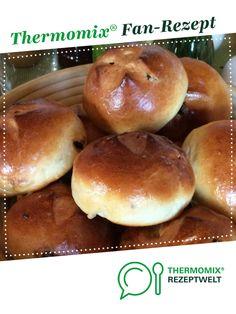 Rosinenbrötchen schnell!! (Milchbrötchen) von Jonas84. Ein Thermomix ® Rezept aus der Kategorie Backen süß auf www.rezeptwelt.de, der Thermomix ® Community.