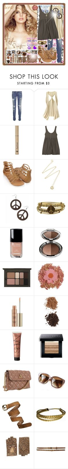 """""""Taylor Swift <3"""" by andrej4e-xoxo ❤ liked on Polyvore featuring Current/Elliott, Old Navy, Dr.Hauschka, Jigsaw, Forever 21, Scosha, Soho Hearts, Alex and Ani, Chanel and philosophy"""