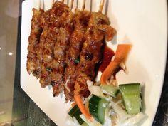 Sate Ayam (chicken) at Indonesian Kitchen Calgary $12