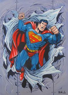superman artwork   superman comic book art gallery