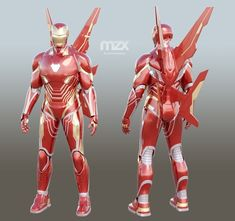 Mark 48 Infinity War wearable suit for DIY. My own Update - added both guns and both swords. To get update, please contact me via your order page. Suit adopted for wearing for typical adult. Infinity War, Iron Man Fan Art, Suits Series, Marvel Animation, Hand Cannon, 3d Printing Diy, Arc Reactor, Iron Man Armor, Spiderman Art