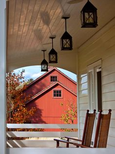 Porch.. of course. But those lanterns! To die for!