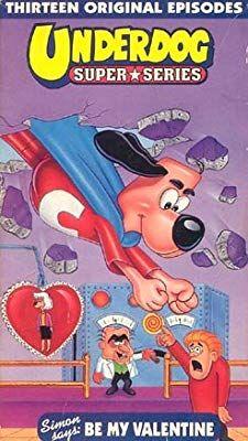 Amazon Com Underdog Super Series Simon Says Be My Valentine Movies Tv Underdog Be My Valentine Simon Says