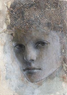 Paintings by Tifenn Python: Les portraits 'mode'!